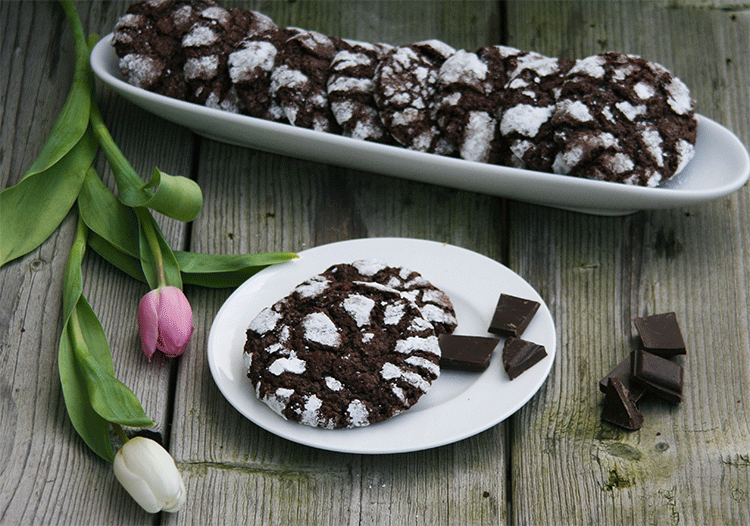 Chocolate Brownie Cookies - schokoladiger geht´s nicht