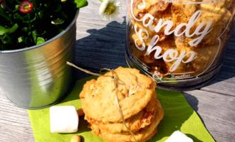 Cookies im Cookieglas aus Marshmallows