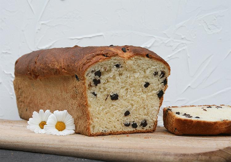 Perfekt zum Frühstück - Omas Rosinen-Butter-Stuten