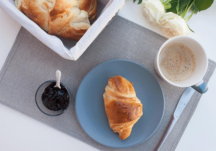 Perfekt für ein gemütliches Frühstück - Frühstückshörnchen