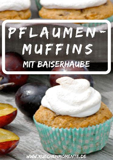Pflaumen Baiser Muffins