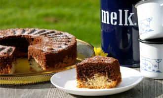 Ein Klassiker - der Marmorkuchen, hier mal glutenfrei