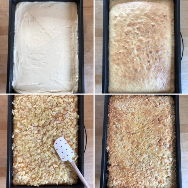 Zubereitung Butterkuchen