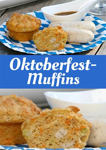 Herzhafte Muffins á la Oktoberfest