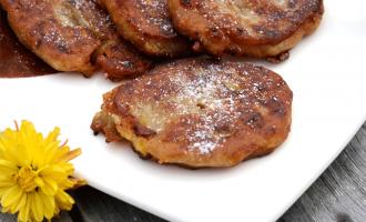 Jamaikanische Banana-Fritters