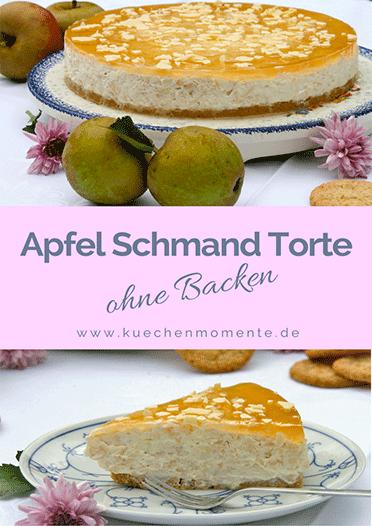 Apfel-Schmand-Torte ohne Backen
