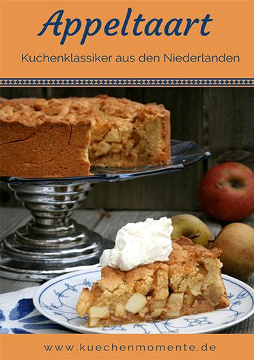 Appeltaart - Klassischer Apfelkuchen aus den Niederlanden