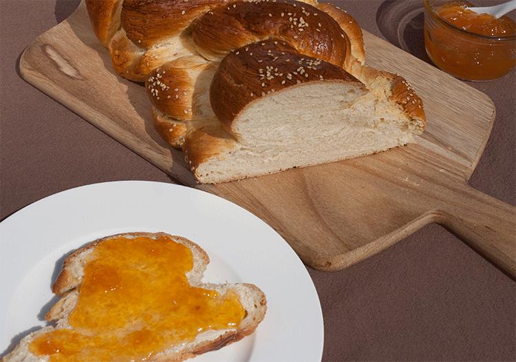 Challah Brot - Jüdischer Hefezopf