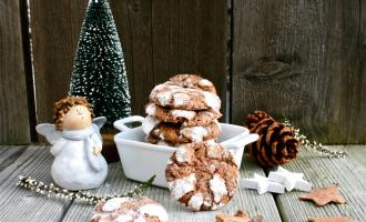 Schokoladen-Minz-Kekse