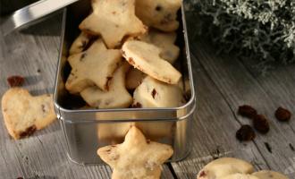 Cranberry-Shortbread zu Weihnachten
