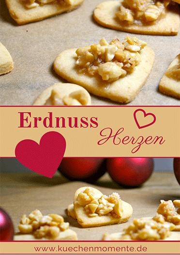 Erdnuss-Herzen