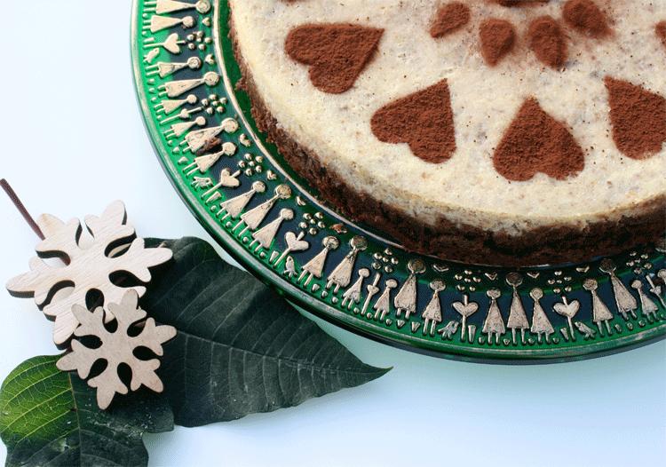 Maronen-Schokoladen-Cheesecake nach Cynthia Barcomi