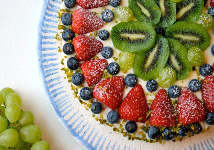 Obsttorte auf italienisch - Torta alla frutta