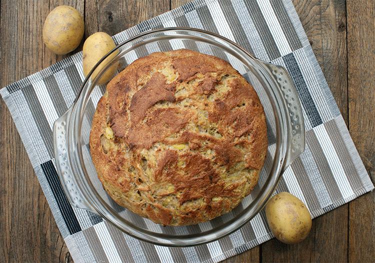 Lecker und gesund - Kartoffel Zucchini Brot