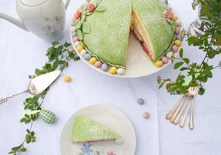 Prinzessinnentorte - Kuchenklassiker aus Schweden