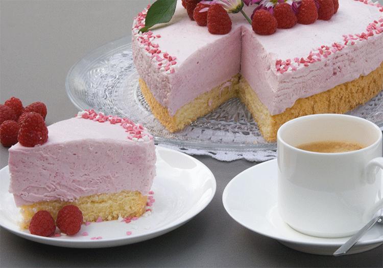 Himbeerherz Kuchenmomente