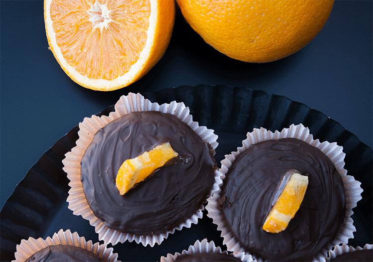 Unschlagbare Kombination - Orangen Schokoladen Muffins
