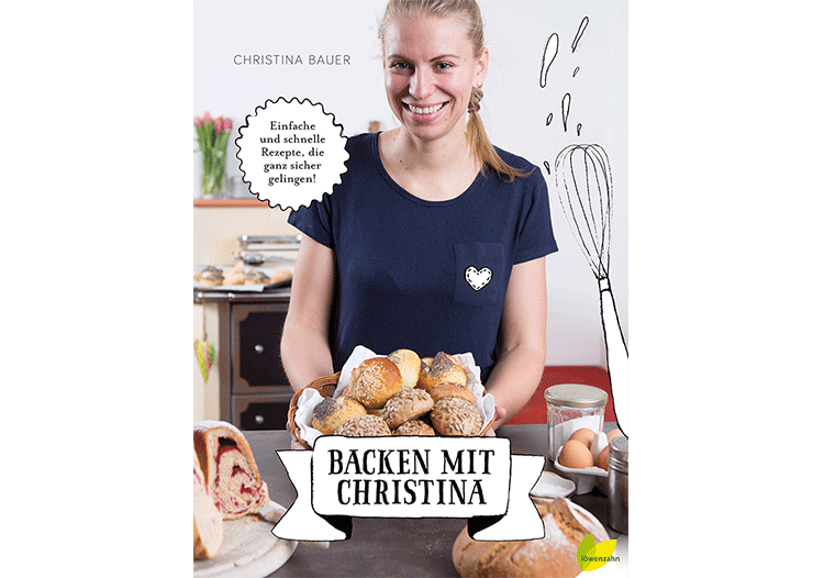 Backbuch - Backen mit Christina