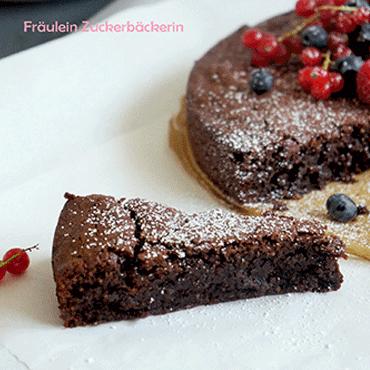 Glutenfreier Schokoladenkuchen Gastbeitrag Kuchenmomente