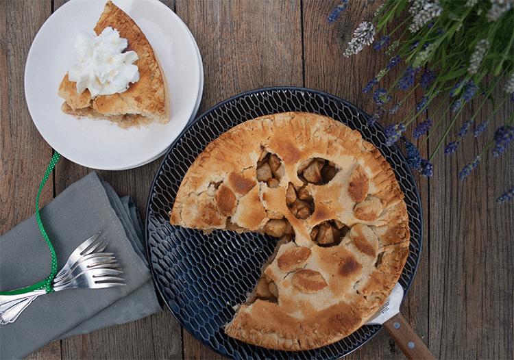 Irish Apple Pie - direkt aus dem Ofen genießen
