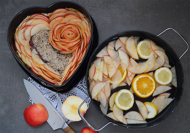 Apfelrosenherz - noch nicht ganz fertig