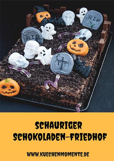 Schokoladen-Friedhof Halloween