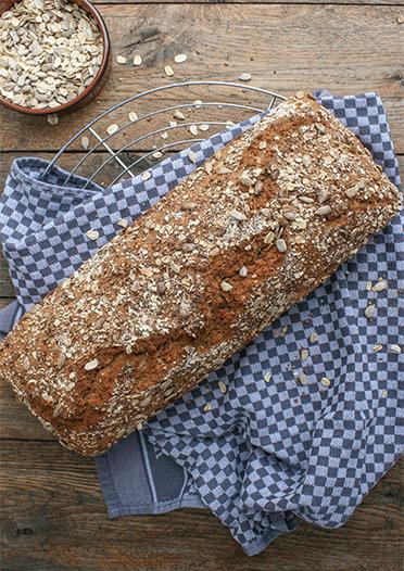 5-Minuten-Brot mit Dinkel-und Weizenvollkornmehl