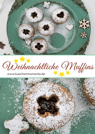 Weihnachtliche Muffins
