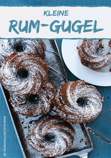 Kleine Rum-Marzipan-Gugel