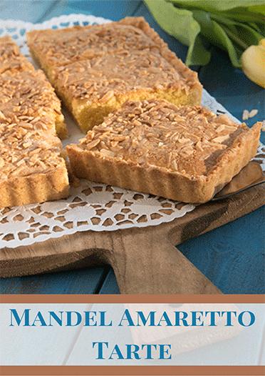 Feine Tarte mit Mandeln und Amaretto