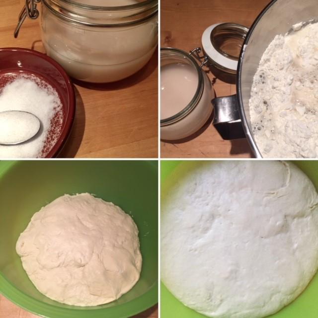 Synchronbacken Salz-Hefe-Brötchen