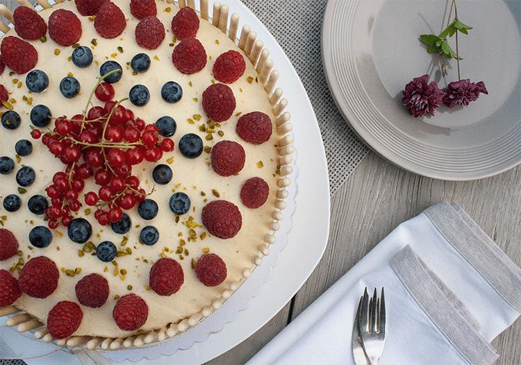 Prosecco-Torte für besondere Anlässe