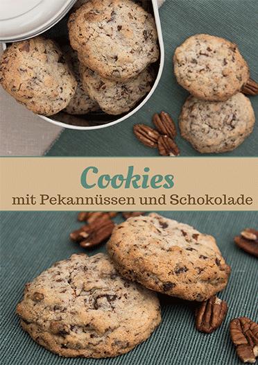 Pekannuss Schokoladen Cookies