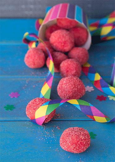 Kleine Clownsnasen - toll für Karneval, Fasching und Kindergeburtstage