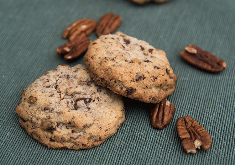 Schokoladen-Pekannuss-Cookies