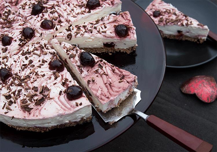 no-bake-cake Amarena-Kirschtorte