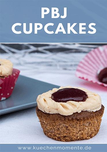 Peanutbutter Jam Cupcakes