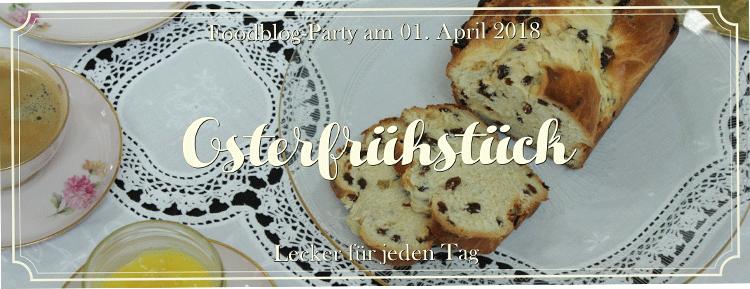 Banner Osterfrühstück
