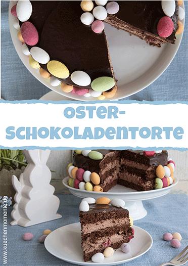 Schokoladentorte zu Ostern