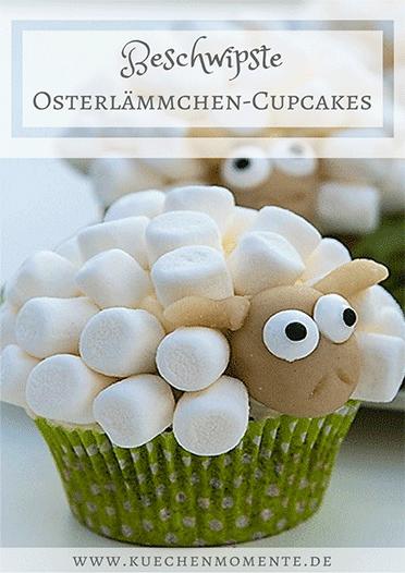 Lamm Cupcakes Ostern beschwipst