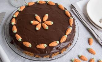 Carrot Cake mit Schokolade