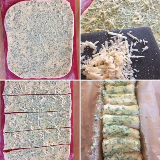 Bärlauch Zupfbrot Zubereitung