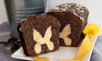 Kastenkuchen Schokolade mit Motiv