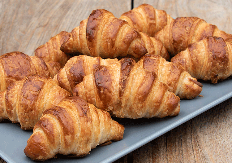 Buttrige Croissants selber backen