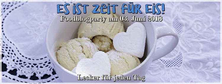 Banner Foodblogparty Eis