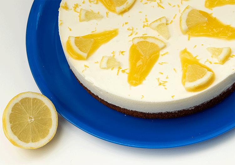 Zitronenkuchen mmit Schmand