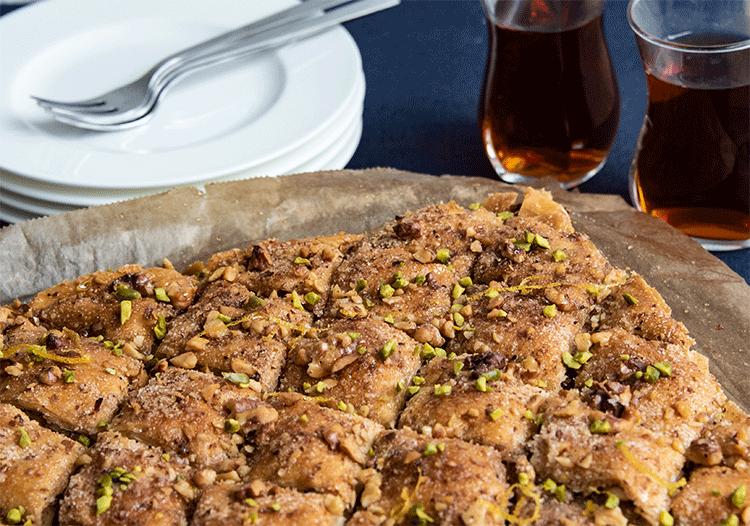 Süßes Gebäck aus der Türkei
