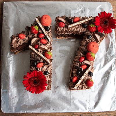 Zahlentorte Numbers Cake Küchenmomente