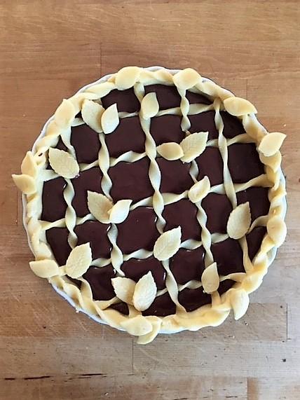 Schokoladen-Crostasta prebake