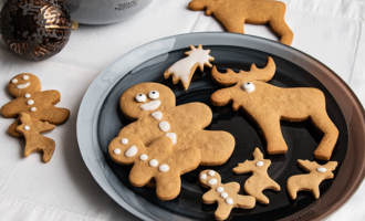 Pepparkakor -Weihnachtsklassiker aus Schweden